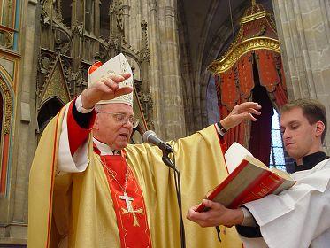 Biskup Jaroslav Škarvada / foto: IMA