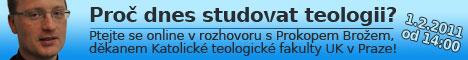 Online rozhovor s děkanem Katolické teologické fakulty UK v Praze
