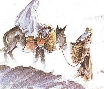 Cesta do Betléma