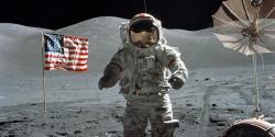 Astronaut Cernan o Bohu