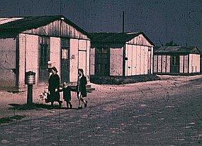 Jak vypadal život v uprchlickém táboře v roce 1950