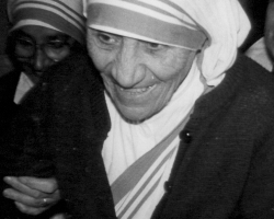 Matka Tereza v Praze 1984 foto / Mother Teresa 1984 Prague picture / photo: IMA