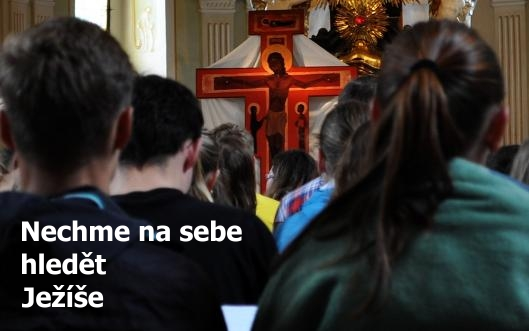 Nechme na sebe hledět Ježíše (papež František)