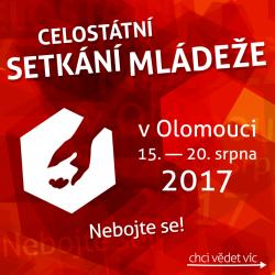 CSM 2017 Olomouc / Celostátní setkání mládeže 15. - 20. 8. 2017