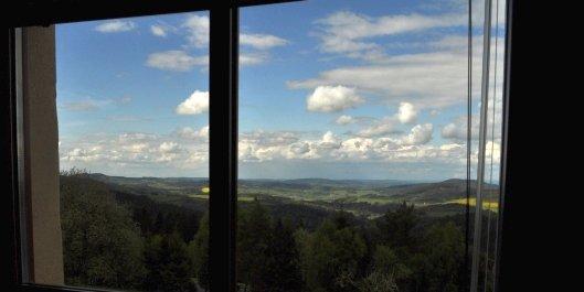 Výhled z Domu sv. Vintíře východním směrem / Dům sv. Vintíře / Dobrá Voda u Hartmanic / Gutwasser, Tschechien / foto -IMA-