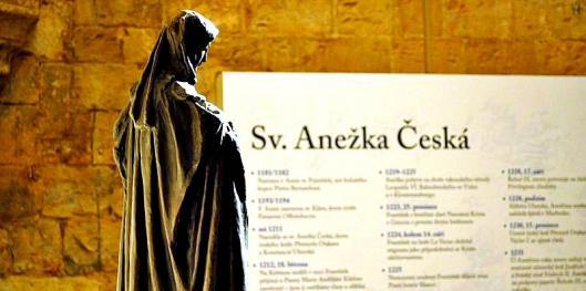 Listopadová revoluce 1989 a Anežka Česká
